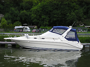 Verdeck Sea Ray 290 Sundancer Persenning 01
