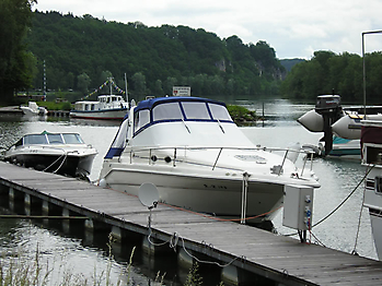 Verdeck Sea Ray 290 Sundancer Persenning 02