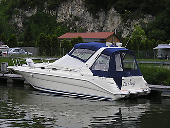 Verdeck Sea Ray 290 Sundancer Persenning 04