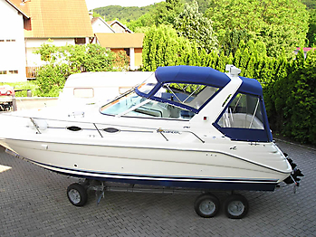 Verdeck Sea Ray 290 Sundancer Persenning 07
