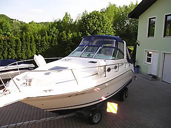 Verdeck Sea Ray 290 Sundancer Persenning 08