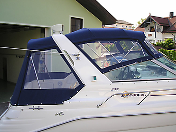 Verdeck Sea Ray 290 Sundancer Persenning 15