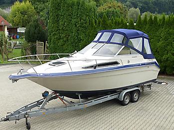 Verdeck Sea Ray Sorrento 25 Bootsverdeck Persenning 05
