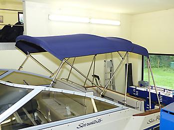 Verdeck Sea Ray Sorrento 25 Bootsverdeck Persenning 23