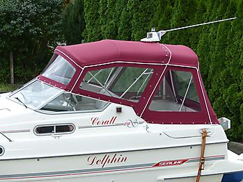Verdeck Sealine 218 Bootsverdeck Persenning 02