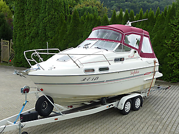 Verdeck Sealine 218 Bootsverdeck Persenning 05