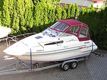 Verdeck Sealine 240 Persenning 05