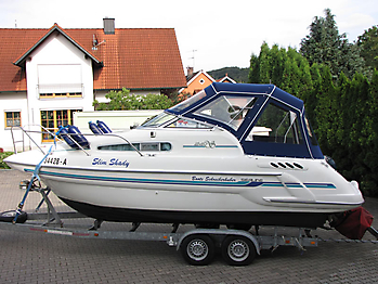 Verdeck Sealine 240 Persenning 03