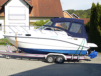 Verdeck Sealine S23 Bootsverdeck Persenning 03