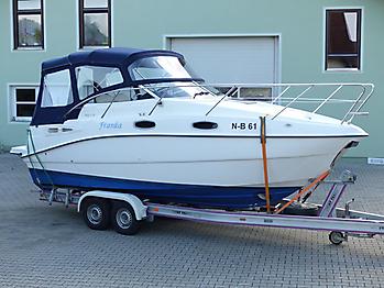 Verdeck Sealine S23 Bootsverdeck Persenning 11