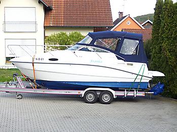 Verdeck Sealine S23 Bootsverdeck Persenning 18