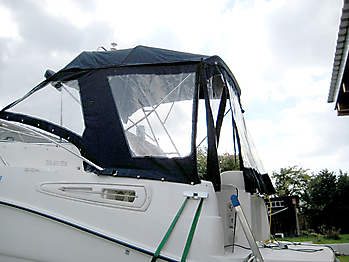 Originalverdeck Sealine S23 01