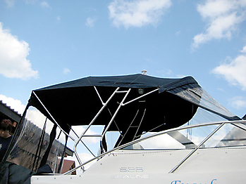 Originalverdeck Sealine S23 02