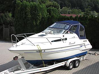 Verdeck Sealine S240 mit Bimini Bootsverdeck Persenning 06