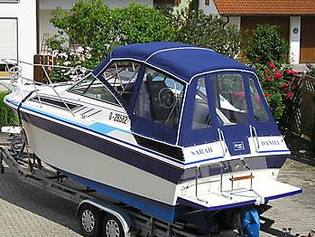 Verdeck Wellcraft Aruba 232 Persenning 06