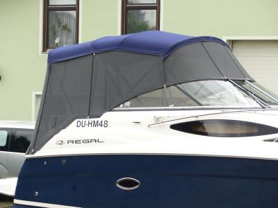 Sonnenschutzverdeck aus Soltis 86 für Regal 2565