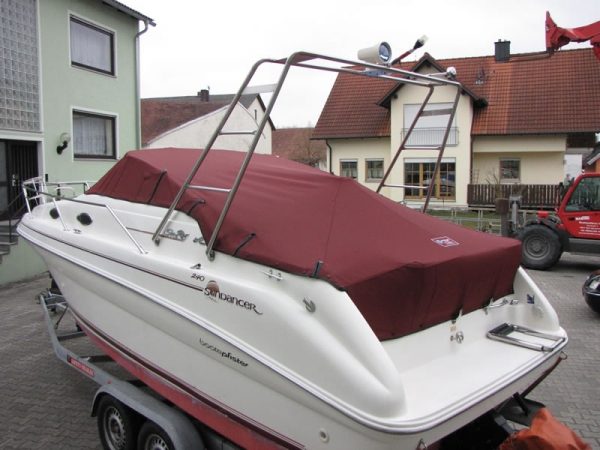 Persenning Sea Ray 240 DA Sundancer Bootspersenning