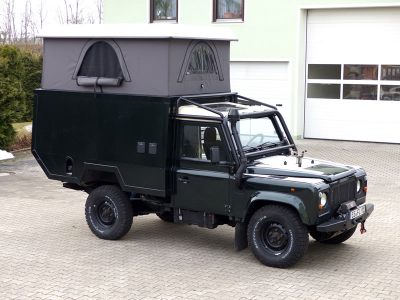 Dachzelt Land Rover Defender 110